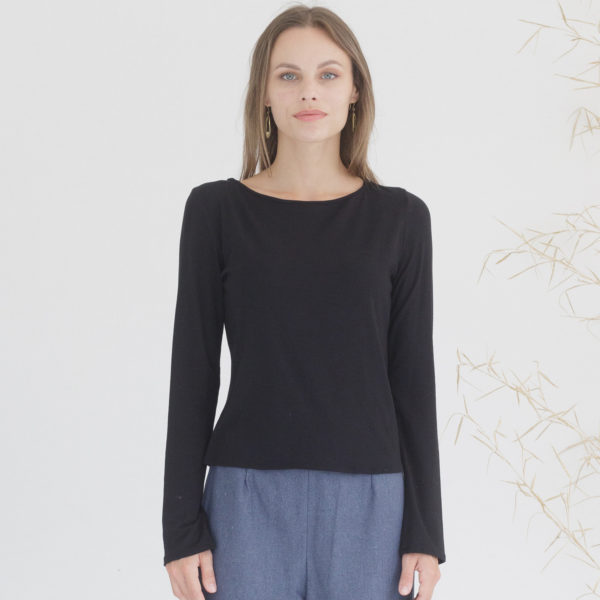 Organic long sleeve top