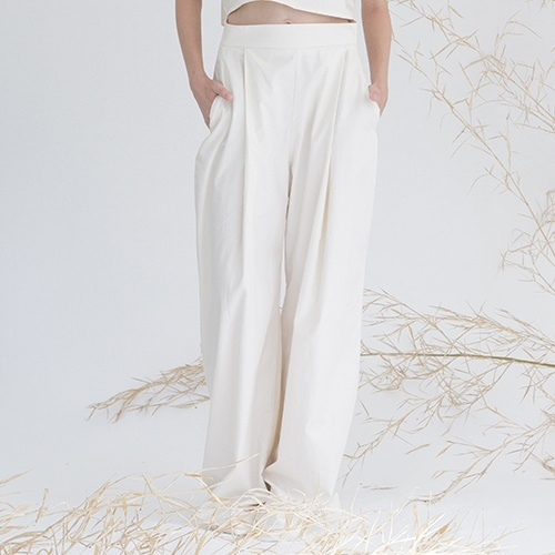 organic cotton large trousers Miu Sutin